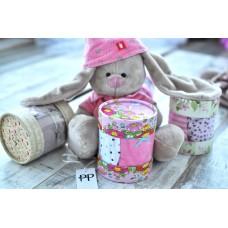 Подарочный набор 0202 с хлопковыми трусиками Pretty Polly (Прити Полли) Alice 3 шт