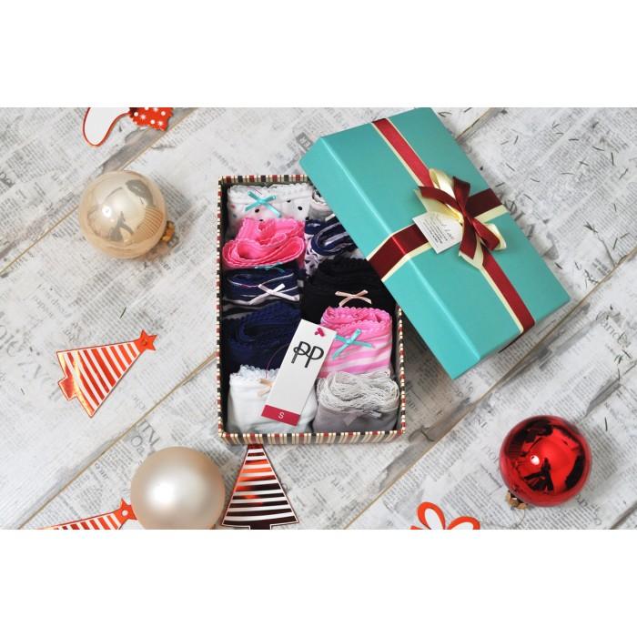 Подарочный набор с хлопковыми трусиками Pretty Polly (Прити Полли) British (9 шт)