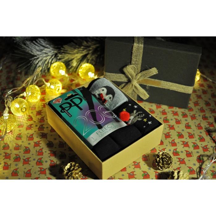 """Подарочный набор с колготками и носочками Pretty Polly (Прити Полли) """"Теплый"""""""
